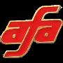 red AFA pin